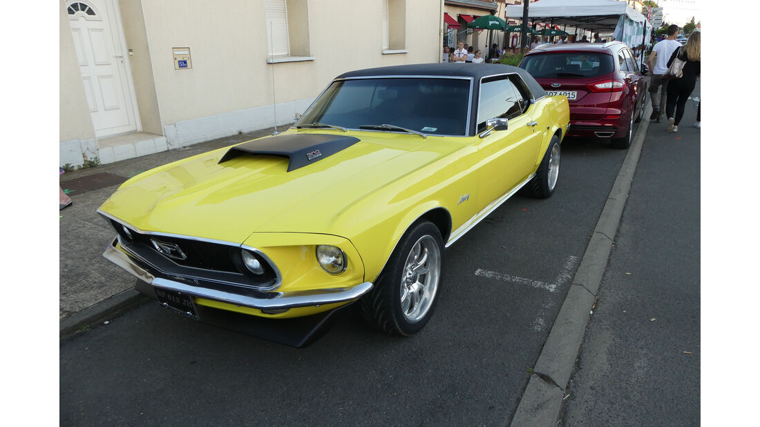Ford Mustang 302 Cabrio - Carspotting - Fan-Autos - 24h-Rennen Le Mans 2017