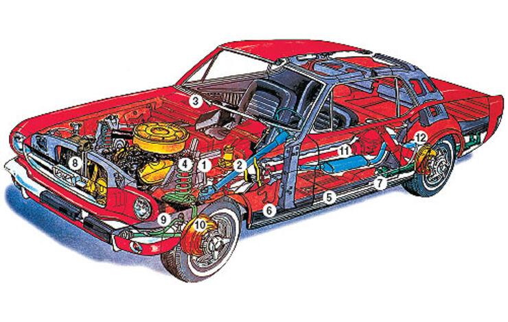 Ford Mustang 390 GTA F