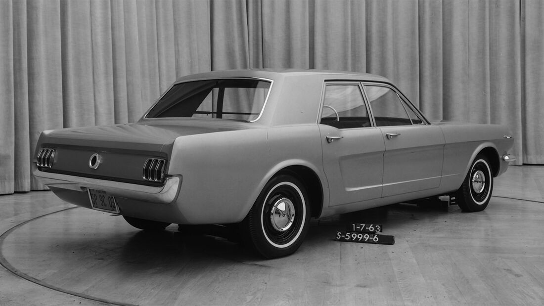 Ford Mustang 4-Türer Studie 1963