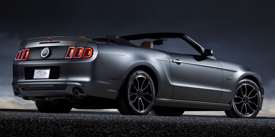 Ford Mustang 5.0 Facelift 2013
