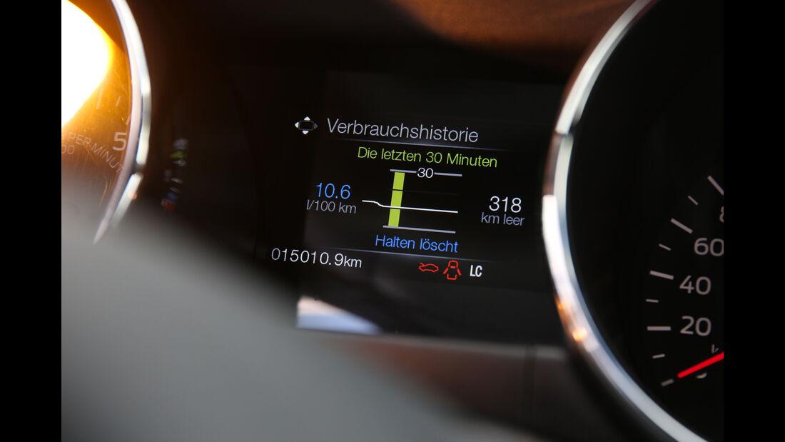 Ford Mustang 5.0 Ti-VCT V8, Anzeigeinstrumente