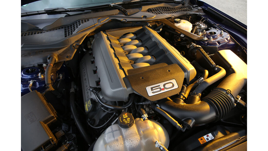 Ford Mustang 5.0 Ti-VCT V8, Motor