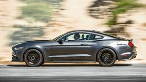 Ford Mustang 5.0 V8, Seitenansicht