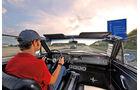 Ford Mustang, Autobahn, Fahrersicht