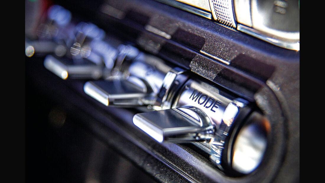 Ford Mustang, Bedienelemente
