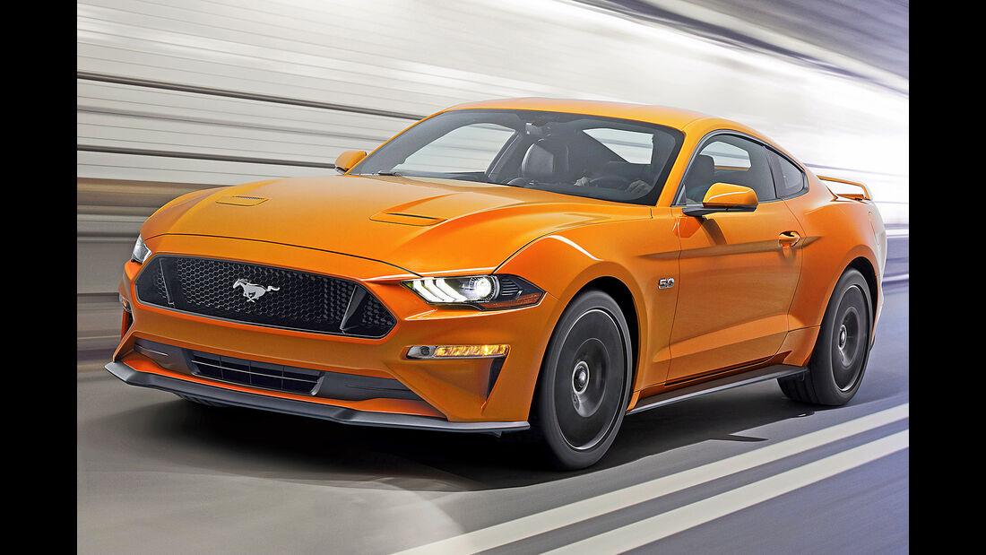 Ford Mustang, Best Cars 2020, Kategorie G Sportwagen