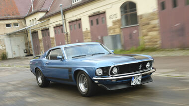 Ford Mustang Boss 302, Frontansicht