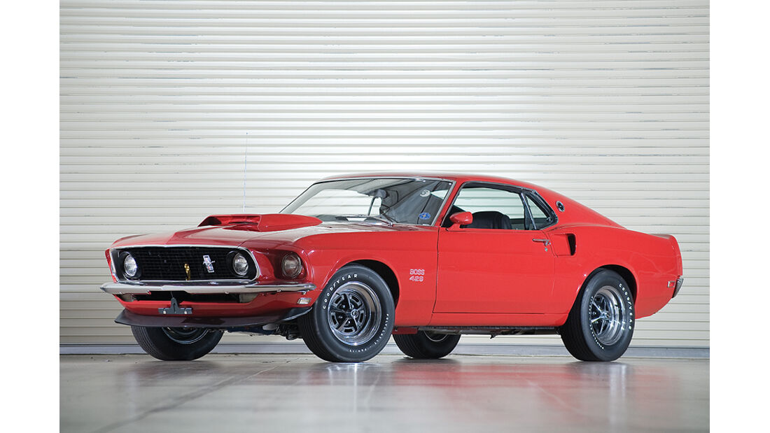 Ford Mustang Boss 429 (Frontansicht)