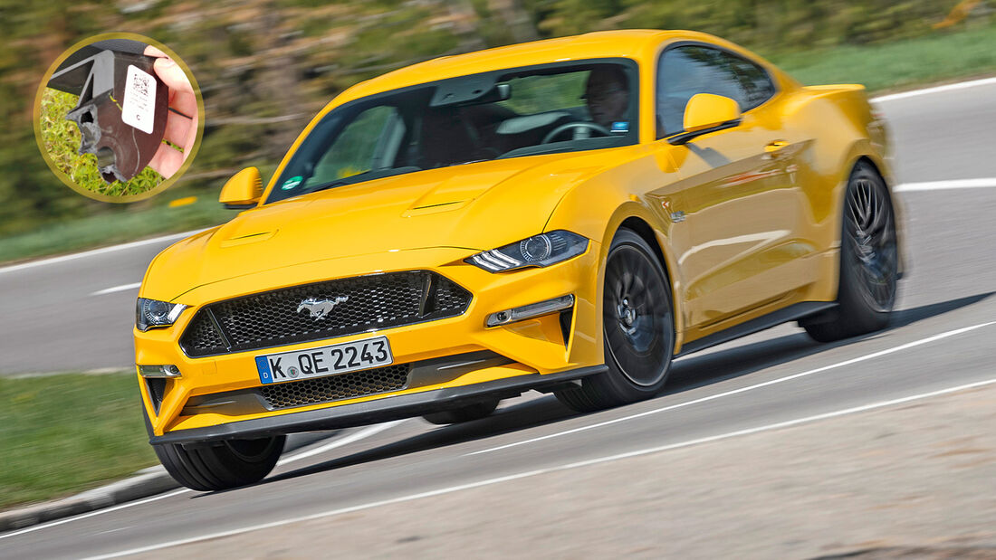 Ford Mustang Bremspedal gebrochen