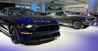 Ford Mustang Bullit Sondermodell NAIAS 2018