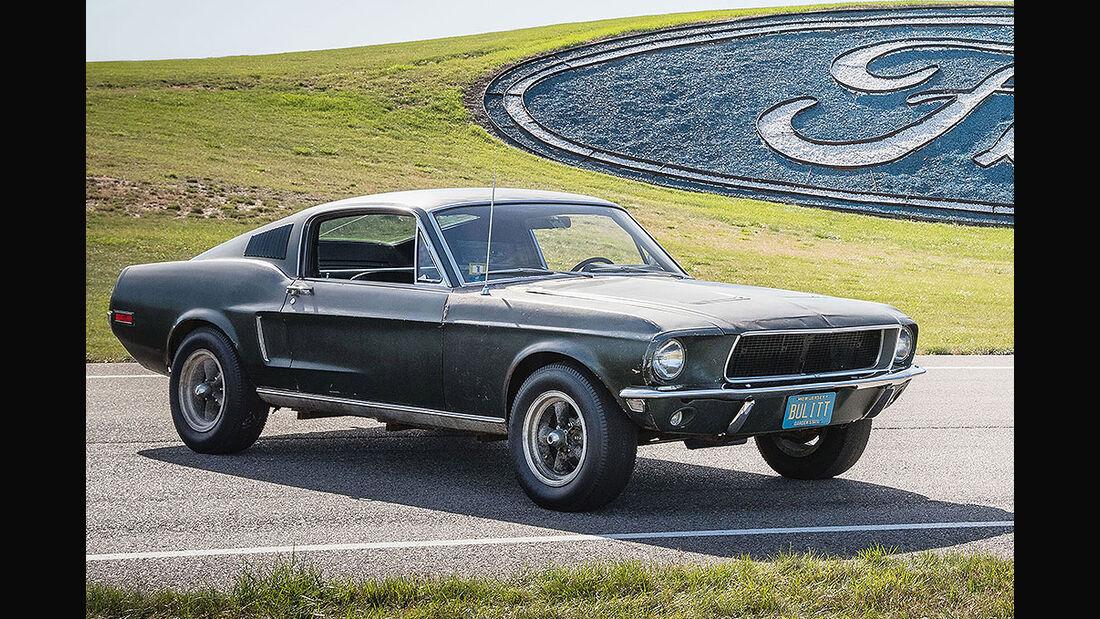 Ford Mustang Bullitt Filmauto
