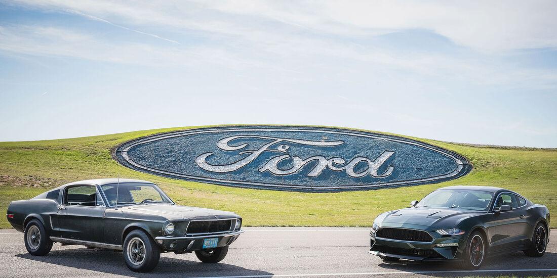 Ford Mustang Bullitt Sondermodell 2018