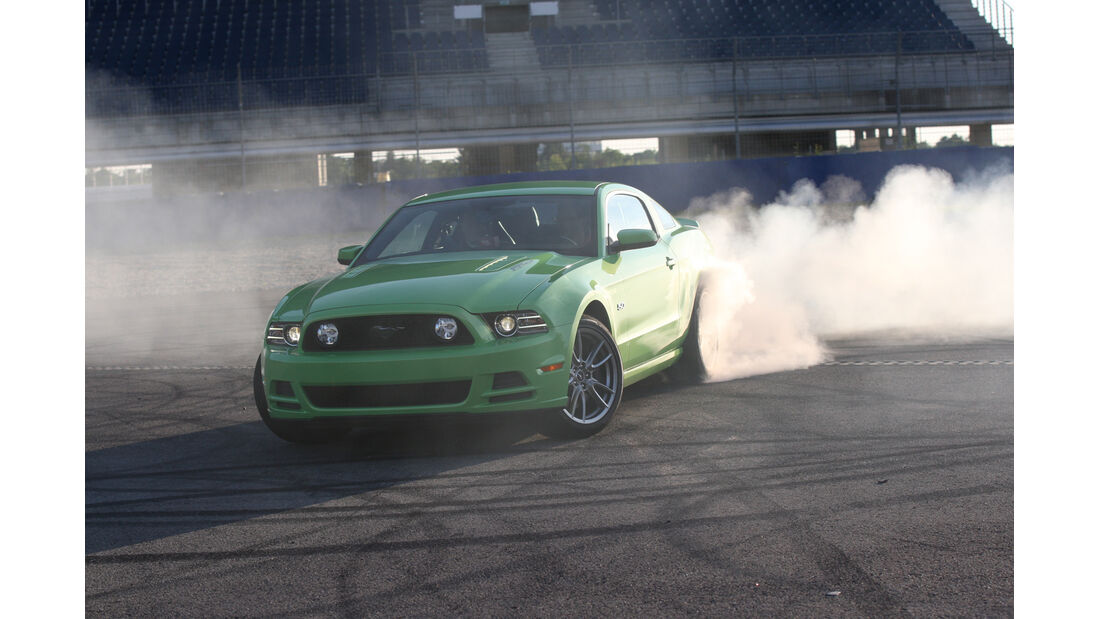 Ford Mustang, Burnout