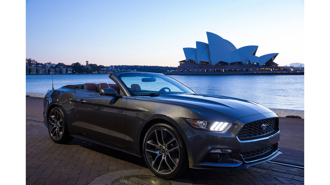 Ford Mustang - Cabrio - Muscle Car - Australien