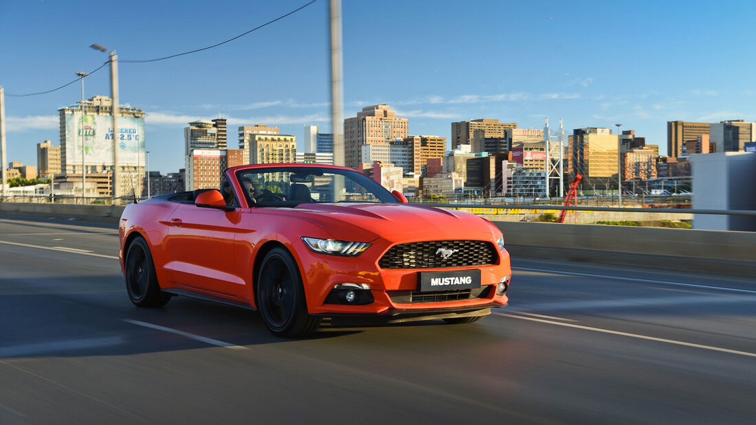 Ford Mustang - Cabrio - Muscle Car - Südafrika