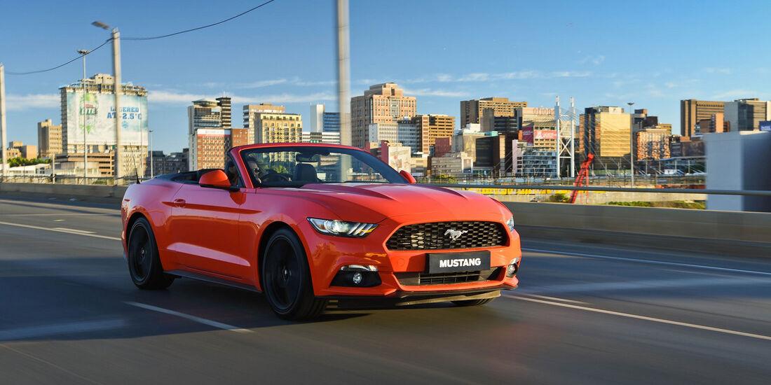 Ford Mustang - Cabrio - Muscle Car - Südafrika