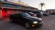 Ford Mustang Cabrio, Seitenansicht