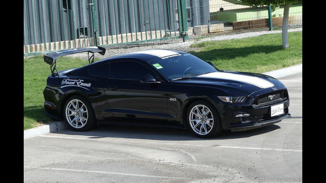 Ford Mustang - Carspotting - Abu Dhabi 2017
