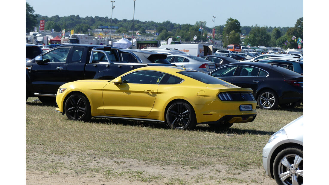 Ford Mustang - Carspotting - Fan-Autos - 24h-Rennen Le Mans 2017
