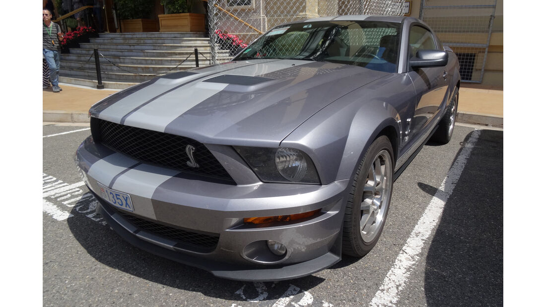Ford Mustang - Carspotting - GP Monaco 2017