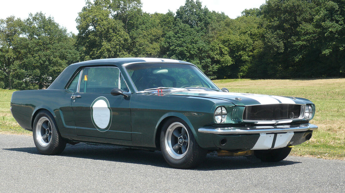 Ford Mustang Competition Coupé