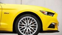 Ford Mustang Convertible 5.0 Ti-VCT V8, Rad, Felge