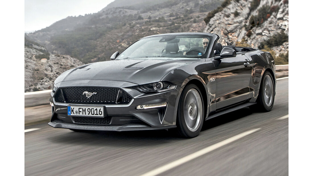 Ford Mustang Convertible, Best Cars 2020, Kategorie H Cabrios