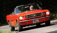 Ford Mustang Convertible, Heckansicht