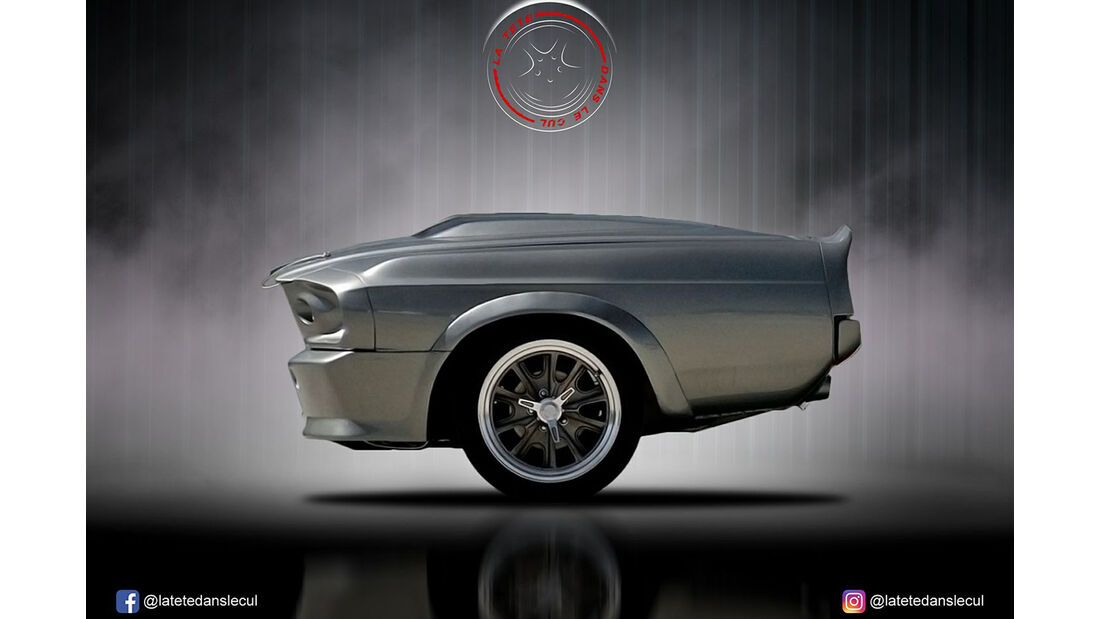 Ford Mustang Eleanore Retusche