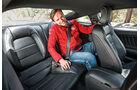 Ford Mustang, Fondsitz, Beinfreiheit
