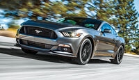 Ford Mustang, Frontansicht