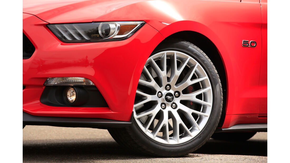 Ford Mustang GT 5.0 Fastback, Rad, Felge