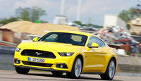 Ford Mustang GT 5.0 Ti-VCT V8, Frontansicht