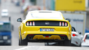 Ford Mustang GT 5.0 Ti-VCT V8, Heckansicht