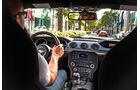 Ford Mustang GT 5.0 VCT V8, Cockpit, Fahrersicht