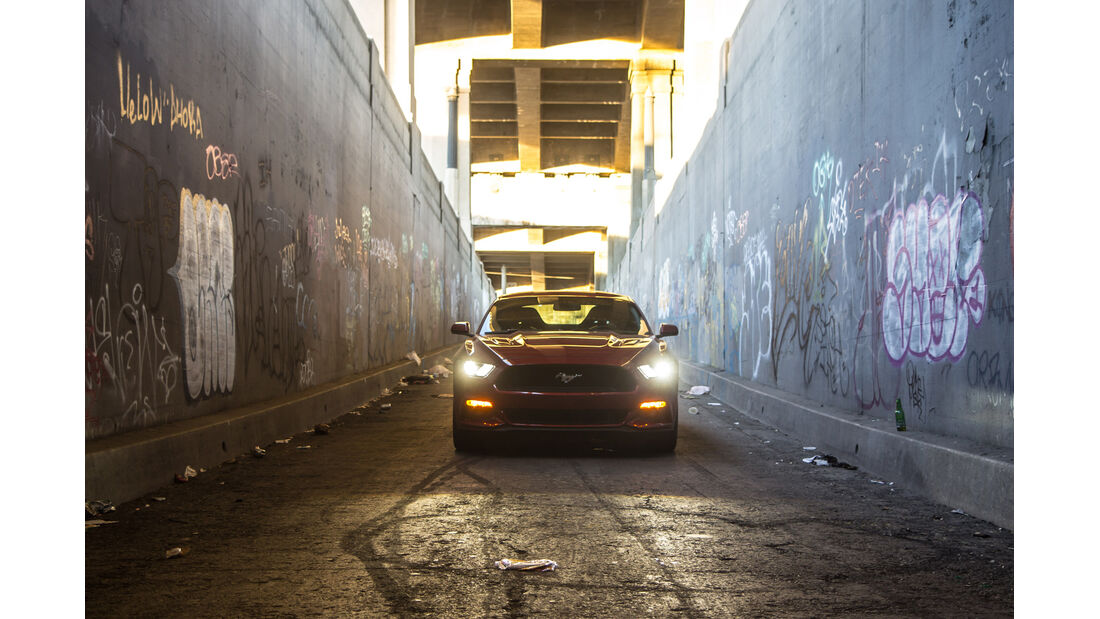 Ford Mustang GT 5.0 VCT V8, Frontansicht
