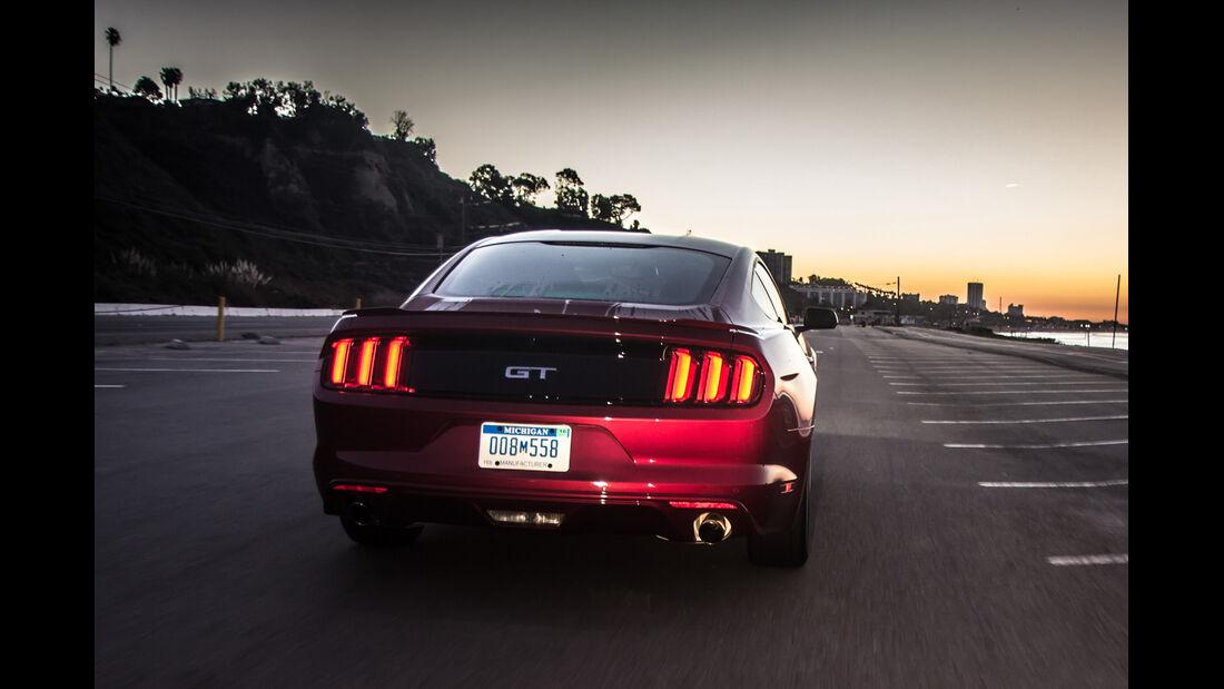 Ford Mustang GT 5.0 VCT V8, Heckansicht