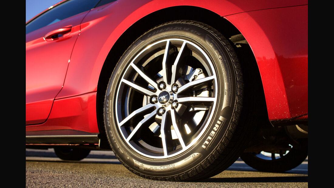 Ford Mustang GT 5.0 VCT V8, Rad, Felge