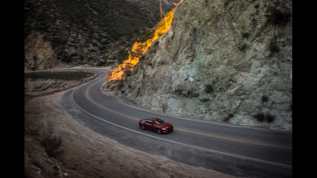 Ford Mustang GT 5.0 VCT V8, Seitenansicht