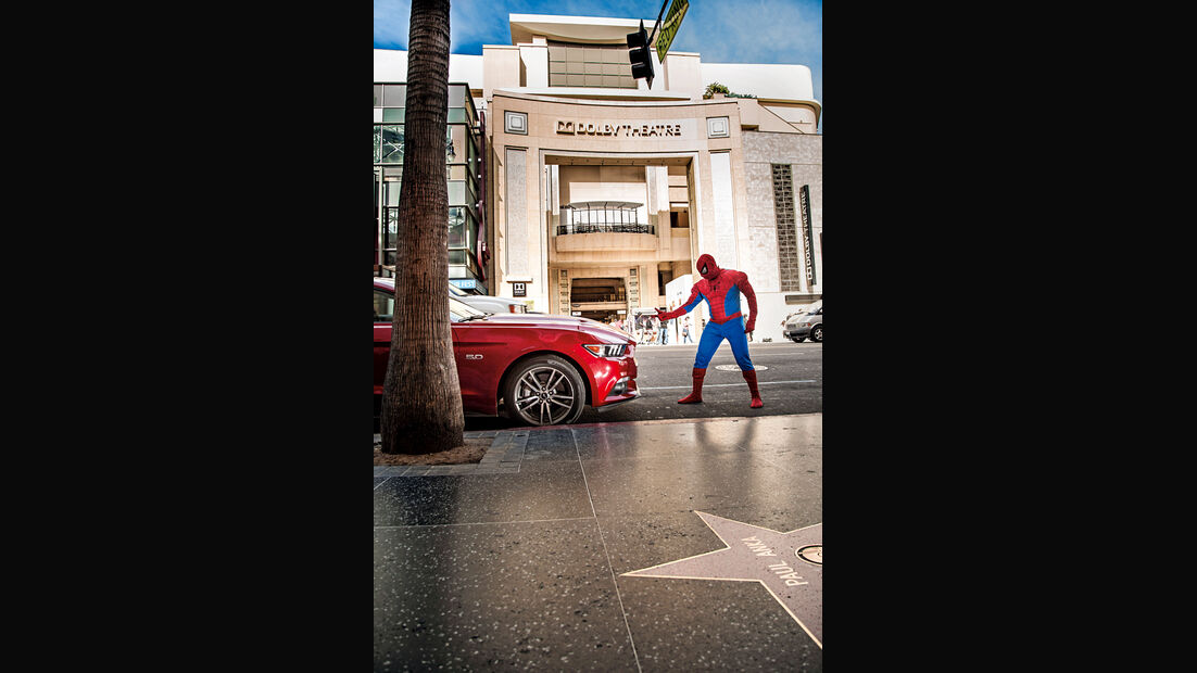 Ford Mustang GT 5.0 VCT V8, Spiderman