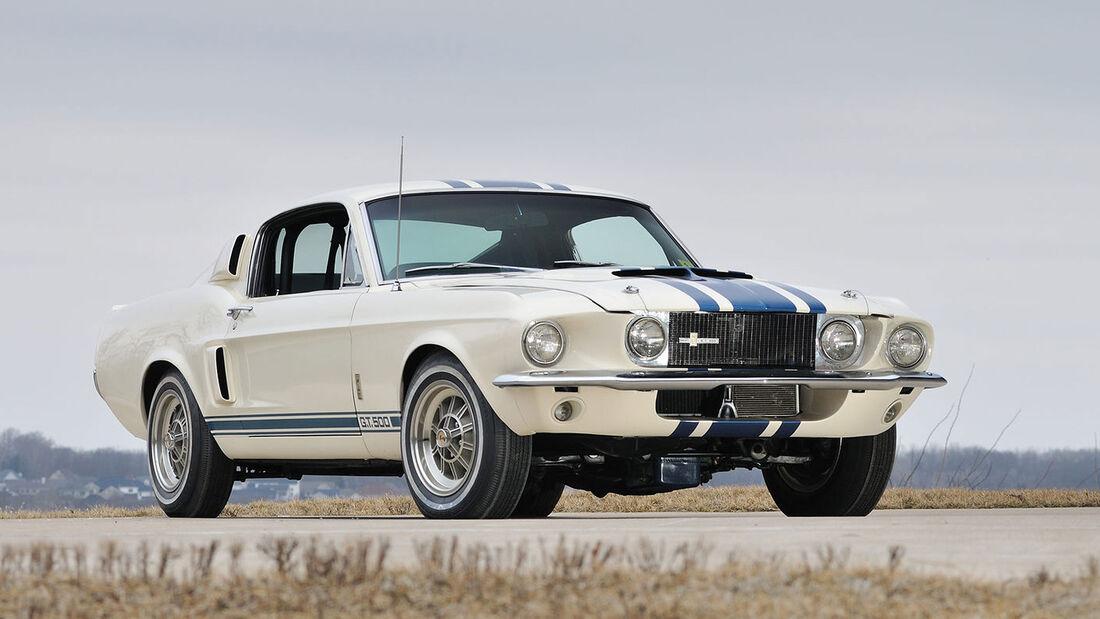 Teuerster Mustang Der Welt 2 2 Mio Fur Shelby Gt 500 Auto Motor Und Sport
