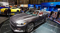 Ford Mustang GT Cabrio, Genfer Autosalon, Messe, 2014, Genfer Autosalon, Messe, 2014