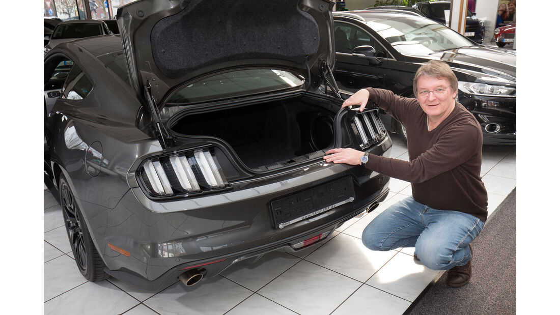 Ford Mustang GT Coupe?, Kofferraum