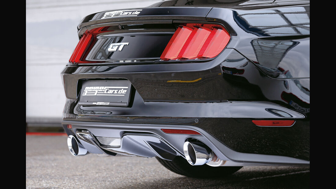 Ford Mustang GT Fastback 2015, Heck