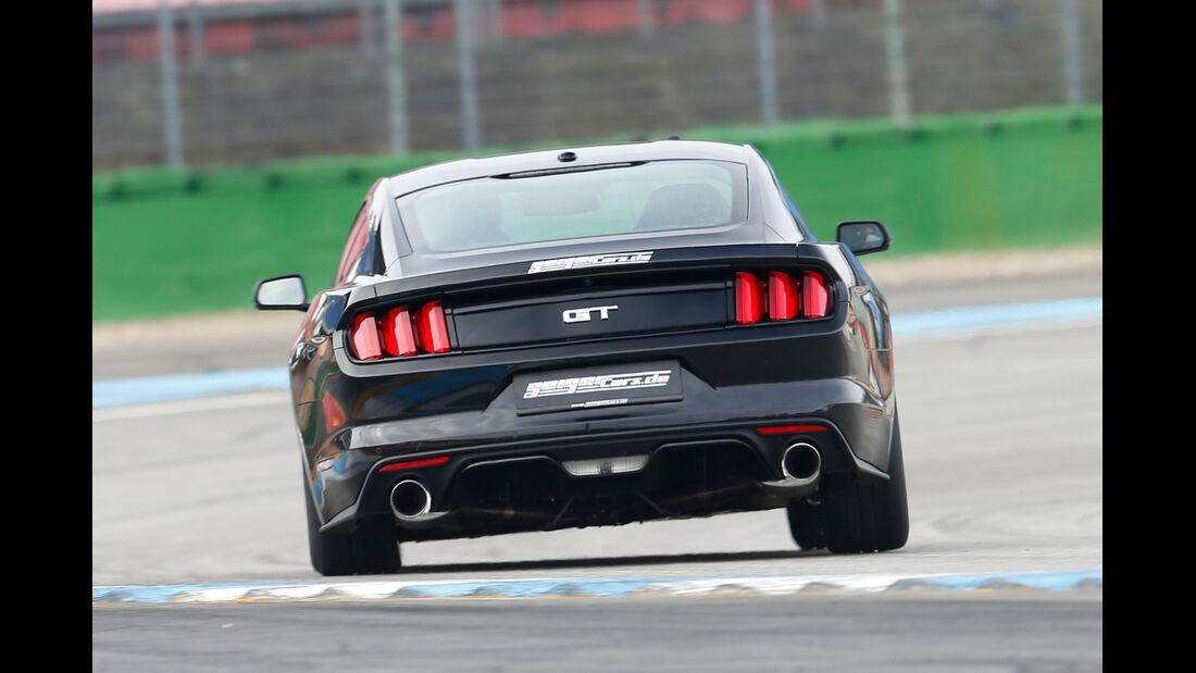 Ford Mustang GT Fastback 2015, Heckansicht