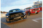 Ford Mustang GT Fastback 2015 und Hardtop Coupé 1965