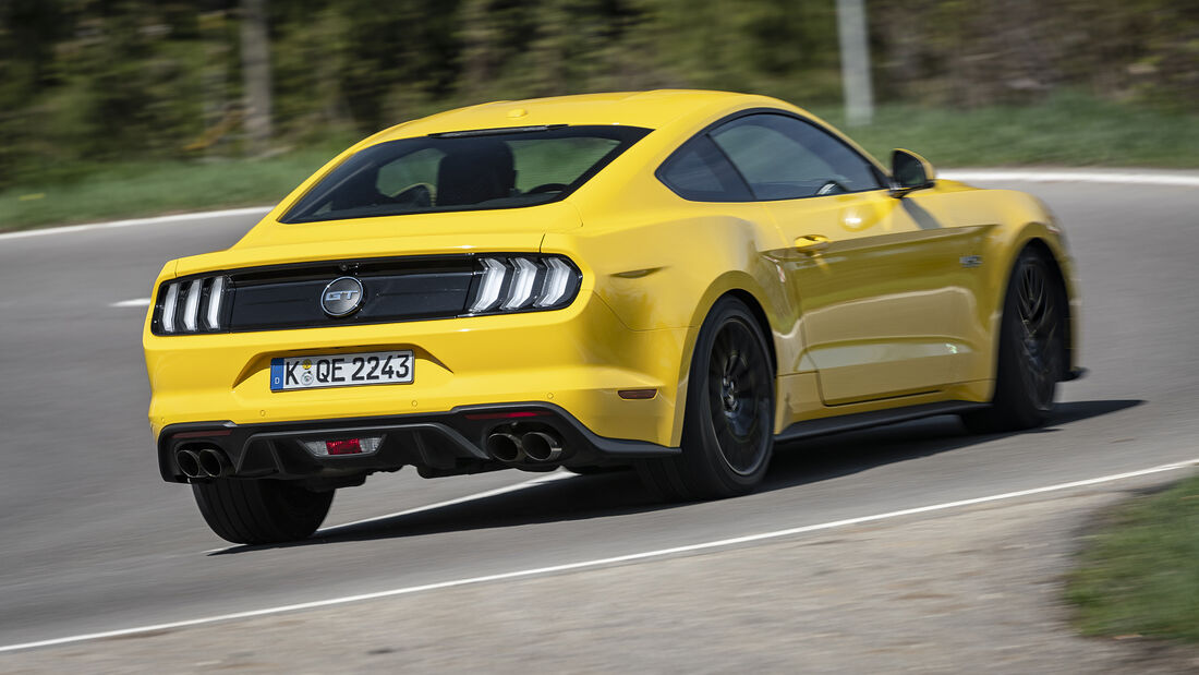 Ford Mustang GT Fastback, Exterieur