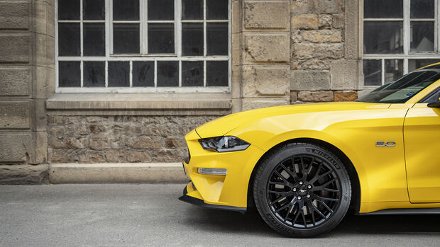 Ford Mustang GT Fastback, Rad
