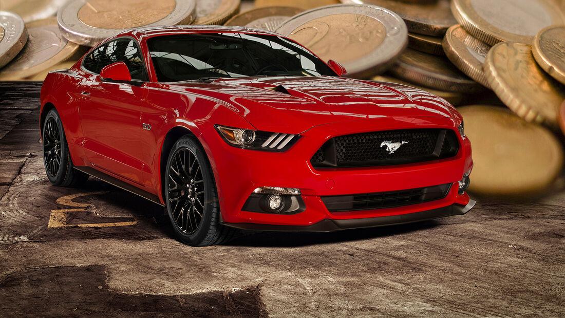 Ford Mustang GT Preis Unterschied Länder