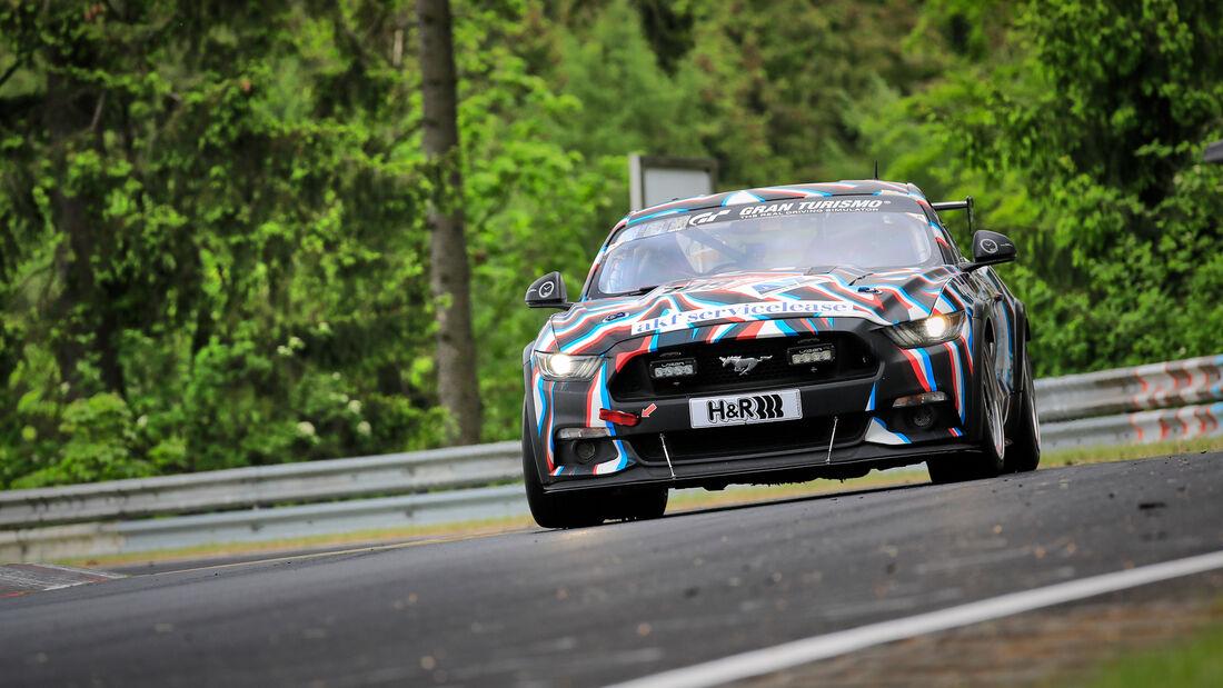 Ford Mustang GT - Startnummer #109 - Klasse: AT - 24h-Rennen - Nürburgring - Nordschleife - 03. - 06. Juni 2021